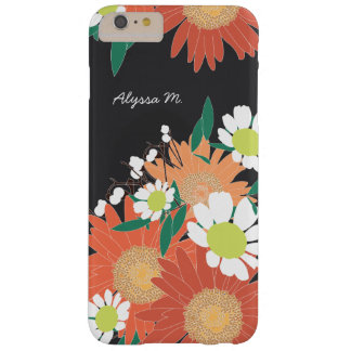 Gorgeous Floral Pattern Personalized iPhone 6 Plus Barely There iPhone 6 Plus Case