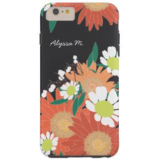 Gorgeous Floral Pattern Personalized iPhone 6 Plus Tough iPhone 6 Plus Case