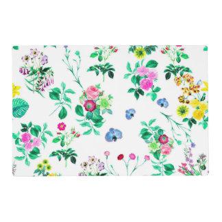 Gorgeous Floral Placemats