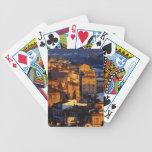 Gorgeous Florence Italy Sunset Scene Poker Deck