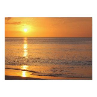 Gorgeous Florida Sunset Card