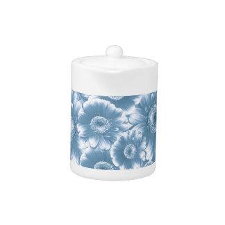 gorgeous flowers,damask,blue