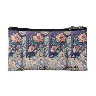 *Gorgeous Flowers Design Pouch Makeup Bag