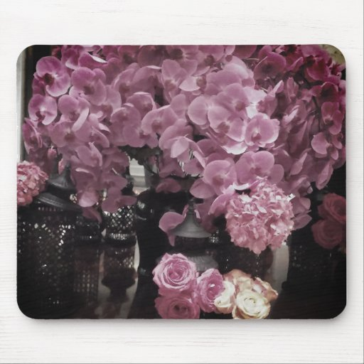 Gorgeous flowers   mouse pad