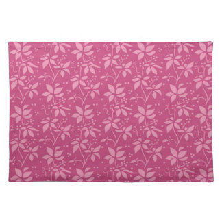 Gorgeous Fuscia Pink Floral Placemat