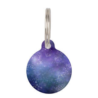 Gorgeous Galaxy Pet ID Tag
