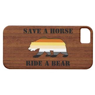 Gorgeous Gay Bear Pride Save A Horse Ride A Bear iPhone SE/5/5s Case