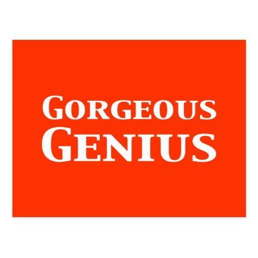 Gorgeous Genius Gifts Postcard