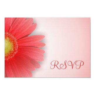 Gorgeous Gerbera RSVP Card
