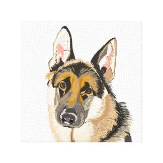 Gorgeous German Shepherd Canvas