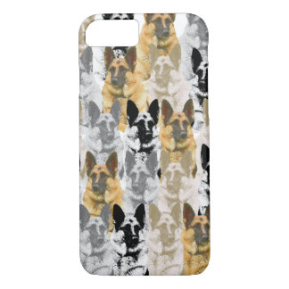 Gorgeous German Shepherd Collage iPhone 7 Case