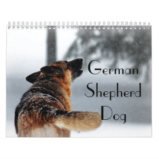 Gorgeous German Shepherd Dog Calendar