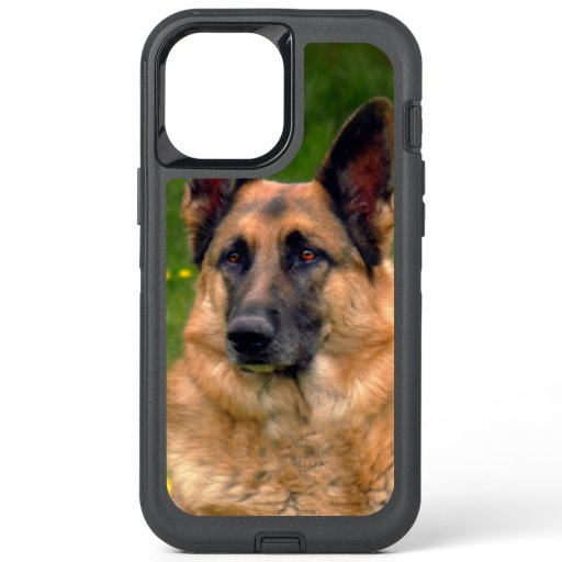 Gorgeous German Shepherd Portrait Photo OtterBox i OtterBox Defender iPhone 12 Pro Max Case