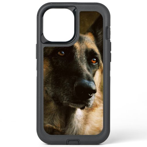 Gorgeous German Shepherd Portrait Photo OtterBox Defender iPhone 12 Pro Max Case