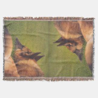 Gorgeous German Shepherd Throw Blanket