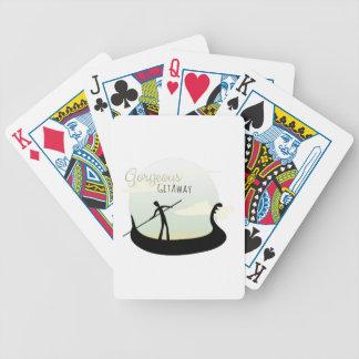 Gorgeous Getaway Bicycle Playing Cards