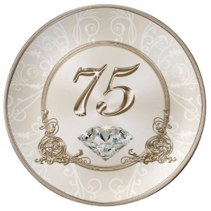 Gorgeous Gifts For 75 Year Old Woman Plate