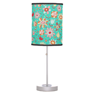 Gorgeous Girly Flowers Lamp