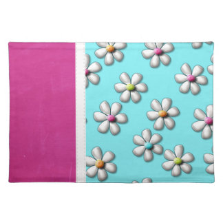 Gorgeous Girly Flowers Place Mats