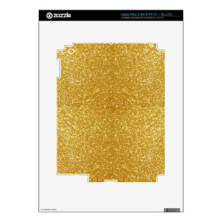 Gorgeous Gold iPad 3 Decals