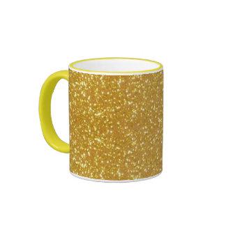 Gorgeous Gold Ringer Coffee Mug