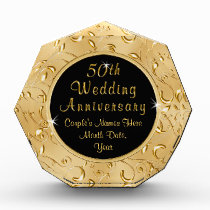Gorgeous Golden Anniversary Gifts for Parents