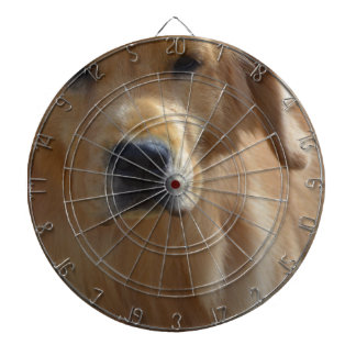 Gorgeous Golden Retriever Dart Board