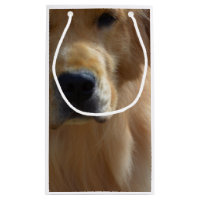 Gorgeous Golden Retriever Small Gift Bag
