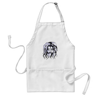 Gorgeous gothic adult apron