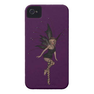 Gorgeous Gothic Fairy BlackBerry Bold Purple Blackberry Cases