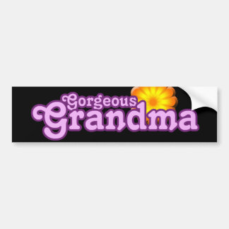 Gorgeous Grandma Bumper Sticker