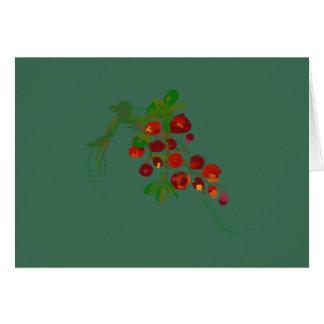 Gorgeous Grapes card