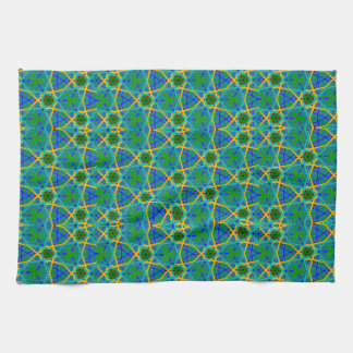 Gorgeous Green and Blue Hand/Kitchen Towel