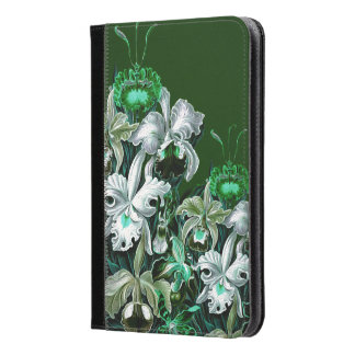 Gorgeous Green Vintage Flowers iPad Mini Case