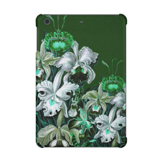 Gorgeous Green Vintage Flowers iPad Mini Covers