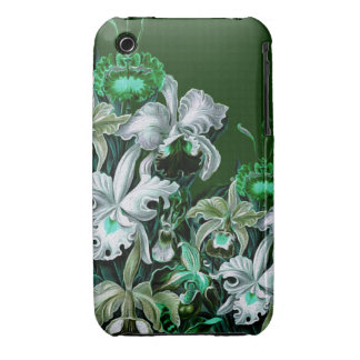 Gorgeous Green Vintage Flowers iPhone 3 Case-Mate Case