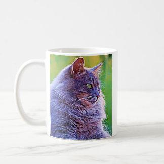 Gorgeous Grey Cat Coffee Mug
