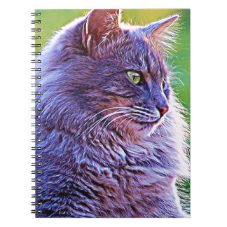 Gorgeous Grey Cat Notebook