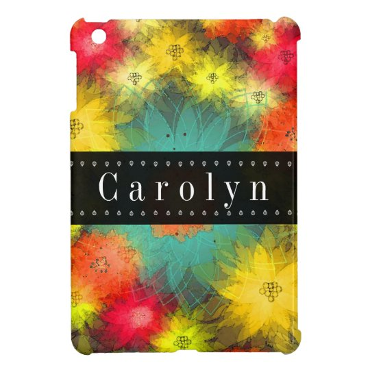 Gorgeous Grunge Floral Mini iPad Case
