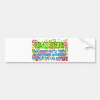 Gorgeous Guidance Counselors Gifts Car Bumper Sticker