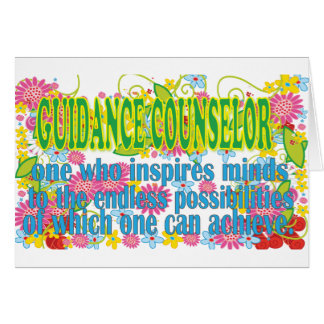 Gorgeous Guidance Counselors Gifts Card