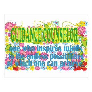Gorgeous Guidance Counselors Gifts Postcard