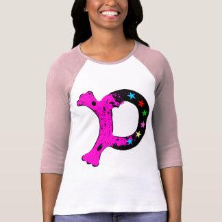"╚»•Gorgeous Initial ""D"" Classic Raglan T-Shirt•«╝ T-Shirt"