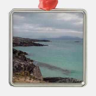 Gorgeous Irish Coastline, Ring of Kerry, Ireland Metal Ornament