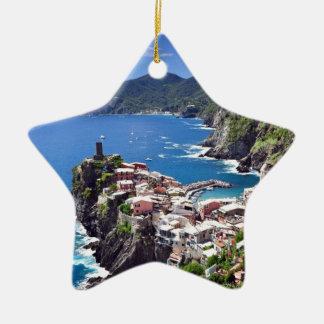 Gorgeous Italian Seaside Ceramic Ornament