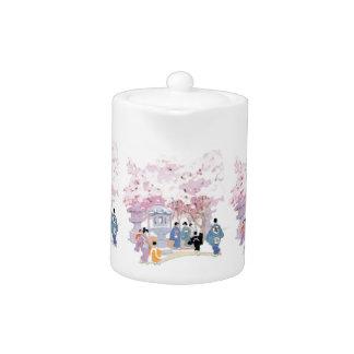 Gorgeous Japanese Cherry Blossom Home Decor Teapot