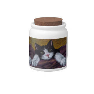 Gorgeous kitty candy dish