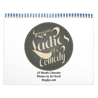 Gorgeous Ladies of Comedy 15 Month Calendar