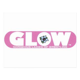 """Gorgeous Ladies of Wrestling"" Postcard"
