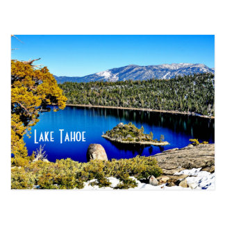 Gorgeous Lake Tahoe Postcard